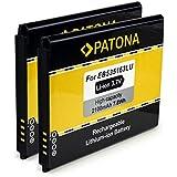 2x PATONA Batería EB535163LU | EB535163LA para Samsung Galaxy Grand Neo, i9060, Galaxy Grand, i9080, Galaxy Grand DuoS, i9082 [ Li-Ion, 2100mAh, 3.7 V ]