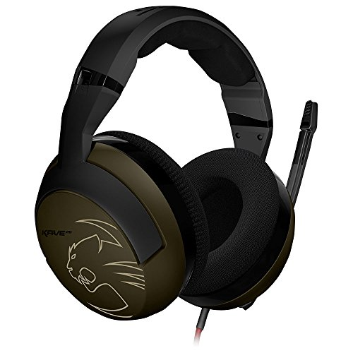 Roccat Kave XTD Desert Strike Stereo Premium Over-Ear Gaming Headset (50 mm Speaker, abnehmbares Mikrofon, 2 x 3,5 mm Klinke)