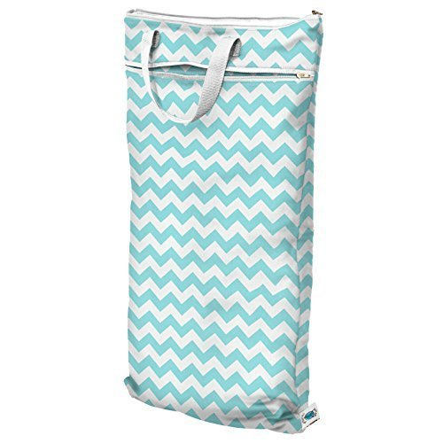 planet-wise-hanging-wet-dry-bag-teal-chevron-by-planet-wise