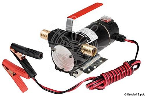 Pompa travaso gasolio 12 V 50 l/min