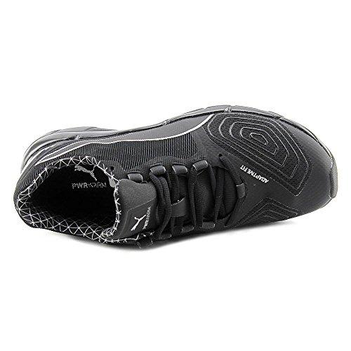 Puma Mobium Elite Speed v2 PWRARM Textile Laufschuh Black-Silver-Sulphur