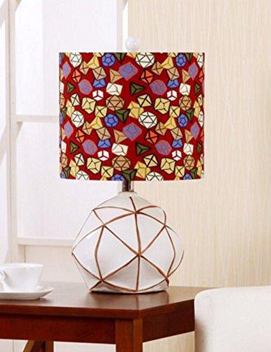 Cjshv-Amerikanische Festliche Kinderzimmer LampeContinental Sommer Minimalistischen Lampenweißer Keramik Schlafzimmer Wohnzimmer Einrichtung Lampen