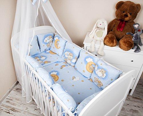 Ami Lian® Baby paracolpi paracolpi 420 cm Design: Orso sulla testa ...