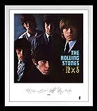 Rolling Stones [Frame]: 12x5 Lithograph [Vinyl LP] (Vinyl)