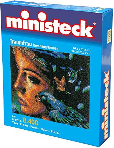 Ministeck Droomvrouw, 8.500 delig, (53,3 x 66,6 cm) Inc. Grondplaat