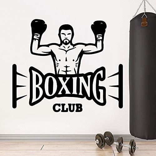SLQUIET Ute boxing club pegatinas pared personalidad