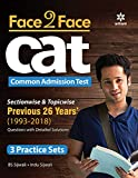 Face To Face CAT 25 years Sectionwise & Topicwise solved paper