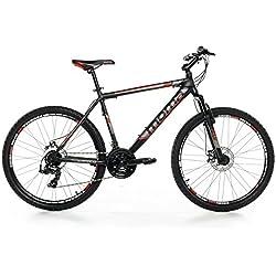 "Moma - Bicicleta Montaña Mountainbike 26"" BTT SHIMANO, aluminio"