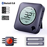 Best Bluetooth Meat Thermometers - Bfour Bluetooth Meat Thermometer Smart Wireless Digital BBQ Review