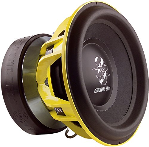 15 Subwoofer Spl (Ground Zero GZPW 15 SPL, 38 cm Subwoofer, 2 x 1 Ohm, 8000 Watt RMS …)