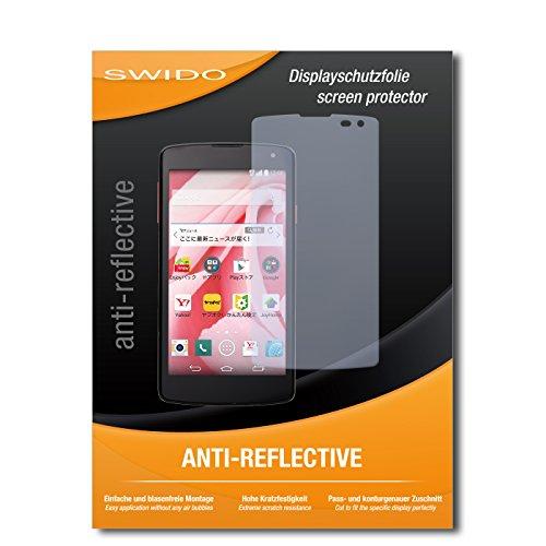 """Preisvergleich Produktbild 4 x SWIDO® Displayschutzfolie LG Spray 402LG Displayschutz Folie """"AntiReflex"""" antireflektierend"""