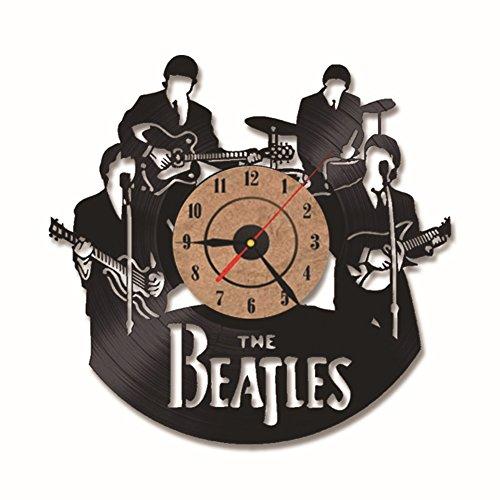 OOFAY Watch Reloj De Pared De Vinilo Vintage Para Los Beatles Ventilador...