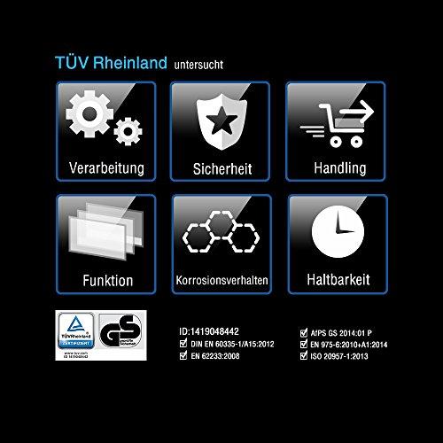 Pfingstangebot bis 05.06! Fitifito 8500 Profi Laufband 7PS 22km/h mit LED Bildschirm, Dämpfungssystem, 5 Trainingsmodulen inkl. HRC – Klappbar, Schwarz - 3