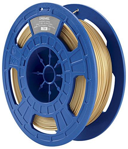 Dremel 26153D51JB Filament pour Imprimante 3D en PLA, Diamètre 1,75 mm, Or