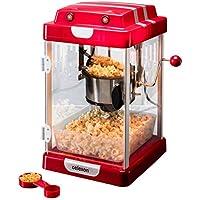 celexon CinePop CP1000 Máquina de palomitas de maíz - 22x17,5x28,5cm - Rojo