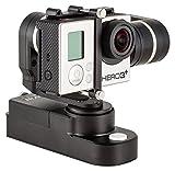 PNJ - FEIYU STEADYCAM GW100 - Stabilisateur électronique 3 axes portable - Compatible caméra de sport GOPRO / AEE MAGICAM