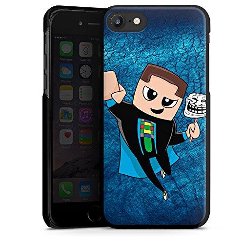 Apple iPhone X Silikon Hülle Case Schutzhülle GommeHD Fanartikel Merchandise Youtuber Hard Case schwarz
