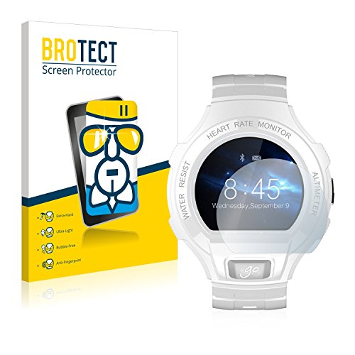 brotect Vetro Compatibile con Alcatel Go Watch Pellicola Protettiva Vetro Durezza 9H, AirGlass