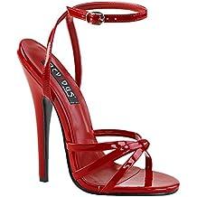 Higher-Heels - Scarpe con cinturino alla caviglia Donna