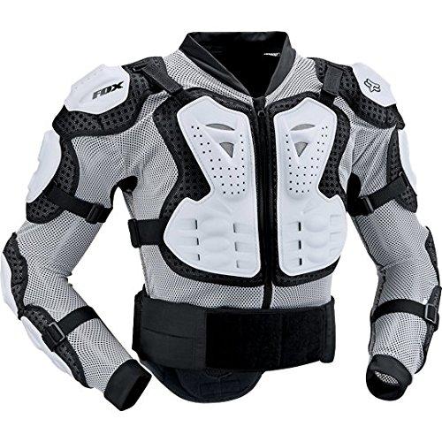 Fox Herren Protektorenjacke Titan Sport, White, XXL, 10050-008 (Mesh-herren-motorrad-jacke)