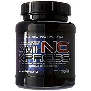 Scitec Nutrition Ami-NO Xpress Intra-Workout Performance Booster Powder - 440g, Orange Mango