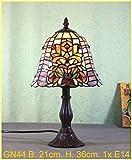 Graf von Gerlitzen Tiffany Stand Tisch Lampe Tischlampe Tiffanylampe GN44