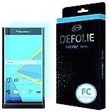 Crocfol Bildschirmschutz für BlackBerry Priv: 2x DIEFOLIE Schutzfolie, 1x DASFLÜSSIGGLAS flüssiges Glas - Fullcover Folie zur Nutzung ohne Schutzhülle