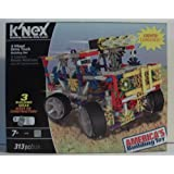 K'nex 4 Wheel Drive Truck Building Set With Lights