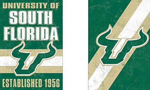 Wincraft Snack-Schale South Florida USF Bulls Garten Flagge, Vintage Edition 31,8x 45,7cm 2-seitige Usf Bulls