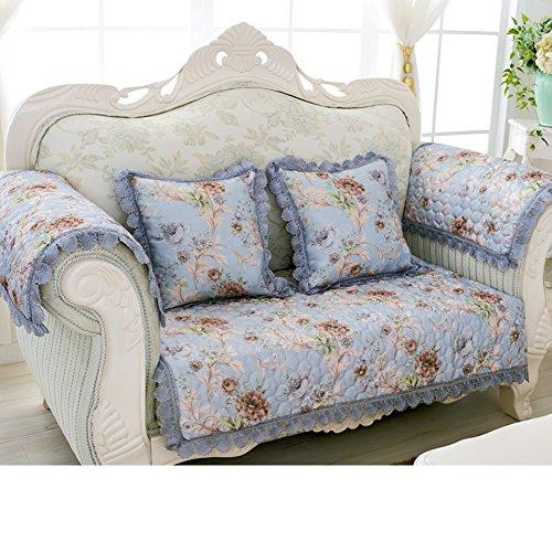 Baumwoll- Und Leinen-sofa-handtuch/Sofa Im Europäischen Stil/Modernes Sofa-handtuch/Allgemeine Sofa Handtuch/Vier Jahreszeiten Anti-rutsch-leder-sofa Handtuch-B 90x240cm(35x94inch)