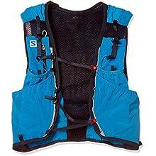 Salomon Advanced Skin 12 Set Lightweight Hydration Pack, 12 Litre, Hawaiian Surf/Night Sky, Medium/Large