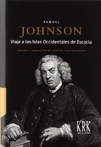 Viaje a las islas occidentales de Escocia por Samuel Johnson