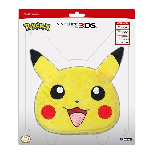 Universal pikachu plush pouch xl nintendo 3ds at shop for 3ds xl pikachu achat