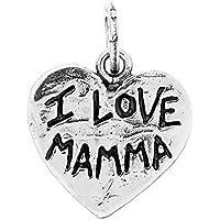 Giovanni Raspini Charm Cuore I Love Mamma 08630