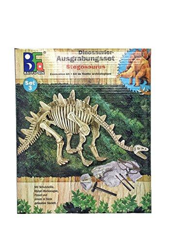 Preisvergleich Produktbild Dinosaurier Graben Fossil Kit – Grabe ein T-Rex-Skelett aus und setze es zusammen! (Stegosaurus)