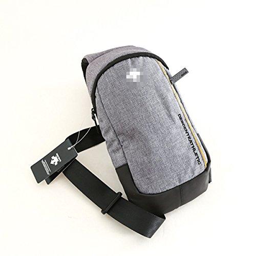 BULAGE Pack Brustbeutel Paket Männer Freizeit Radfahren Bote Sport Reisen Wasserdicht Multi-funktionaler Langlebiger Gray