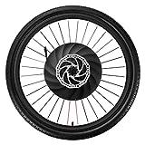 YUNZHILUN iMortor 26 Pulgadas Rueda de Bicicleta eléctrica Delantera con Bluetooth 4.0 para Android y iOS EU