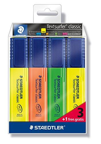 Staedtler Textsurfer classic 364-S WP4P Subrayador