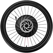 YUNZHILUN iMortor 26 Pulgadas Rueda de Bicicleta eléctrica Delantera con Bluetooth 4.0 para Android y iOS