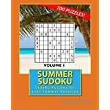 Summer Sudoku: Sudoku Puzzles for your Summer Vacation: Volume 1 by Andrew Miller (2016-05-28)