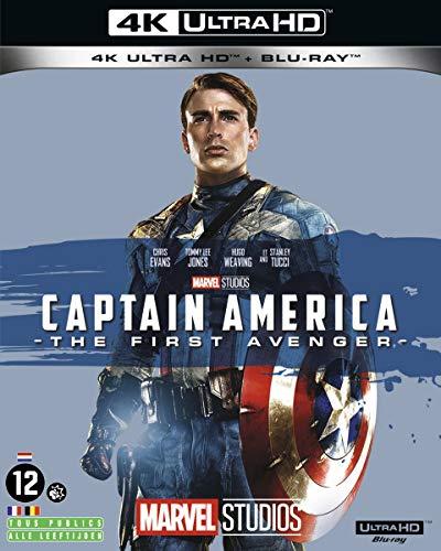 0ffd3740d99 Captain America   The First Avenger  4K Ultra HD + Blu-ray