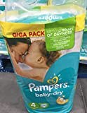 Pampers Baby Dry Size 4 (Maxi Plus) Giga Pack 112 Nappies