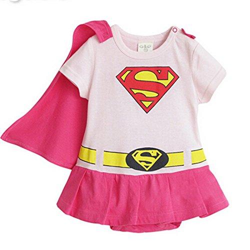 Jumpsuit mit Umhang Kinder Unisex Batman-Form Baumwolle Langarmshirt -