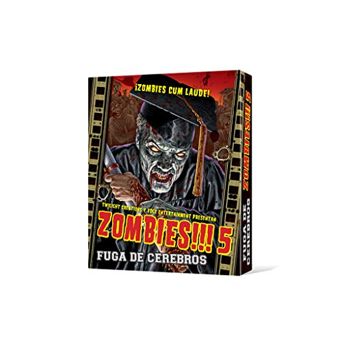 Edge UBIZB05 - Zombies!!! 5: Fuga de Cerebros
