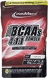 IronMaxx BCAA 4:1:1 – Hochkonzentrierte Aminosäuren für Muskelaufbau und Muskelerhalt – Vitamin B6 – Wenig Kohlenhydrate & Zucker – Kirsch-Geschmack – BCAA Pulver – 550g Beutel