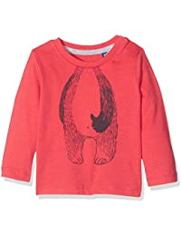 TOM TAILOR Kids Baby-Jungen Langarmshirt Badger Print T-Shirt