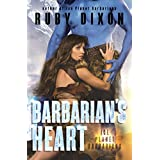 Barbarian's Heart: A SciFi Alien Romance (Ice Planet Barbarians Book 10) (English Edition)