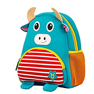 LANSKIRT Mini Babyrucksack Kindergartenrucksack Kindergartentasche Backpack Schultasche Kinder mehr Sicherheit (B)