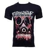Bullet For My Valentine Temper Temper Gas Mask T Shirt (Schwarz) - Medium