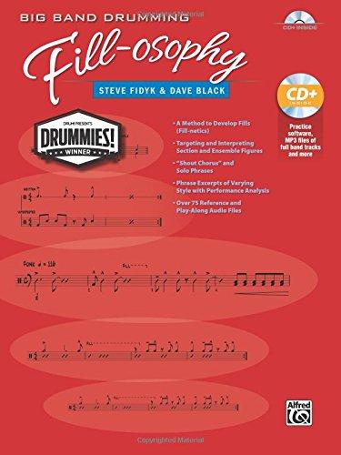 Fidyk/Black Big Band Drumming Fill-Osophy Drums Book/CD +CD